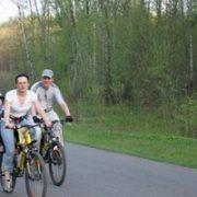 chelovek na velosipede,человек на велосипеде