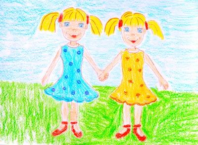 """Поучительный рассказ о двух девочках-близняшках """"Арина и Стася"""""""
