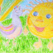 Сказка про птичку Соню и Карлика-Солнце