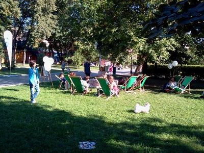 Где погулять с ребёнком в Москве. Парк Баумана или Сад культуры и отдыха имени Баумана. Чайная церемония