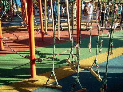 Где погулять с ребёнком в Москве. Парк Баумана или Сад культуры и отдыха имени Баумана. Виселки