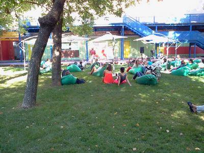 Где погулять с ребёнком в Москве. Парк Баумана или Сад культуры и отдыха имени Баумана. Лекция