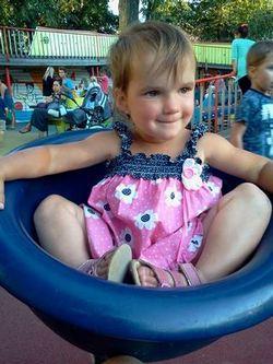 Где погулять с ребёнком в Москве. Парк Баумана или Сад культуры и отдыха имени Баумана. Центрифуга-тазик