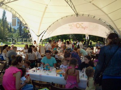 Где погулять с ребёнком в Москве. Парк Баумана или Сад культуры и отдыха имени Баумана . Мастер-классы