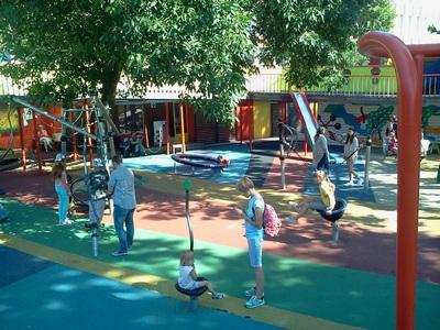 Где погулять с ребёнком в Москве. Парк Баумана или Сад культуры и отдыха имени Баумана. Центрифуги разные