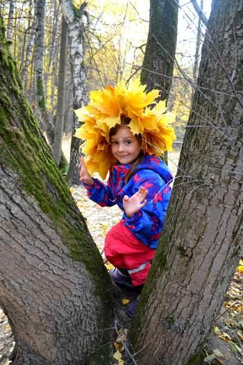 Осень глазами детей – какая она? Весёлые стихи про осень для детей «Осень это». Девочка осенью