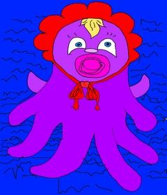 Учим английский язык. Запомнить быстро и легко английские слова возможно. Поможет ассоциативная система запоминания. Page 5. Octopus