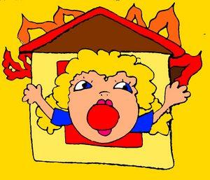 Наша техника запоминания иностранных слов. Учимся весело! Продолжение. Карточки для запоминания английских слов. Page 2, fireman