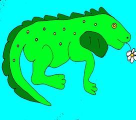 Карточки с английскими словами. Наша методика запоминания слов – яркая визуализация. Учим английский весело! Page 3. Iguana