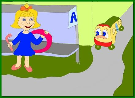 """Современная сказка для малышей  """"Аришка и автобус"""""""
