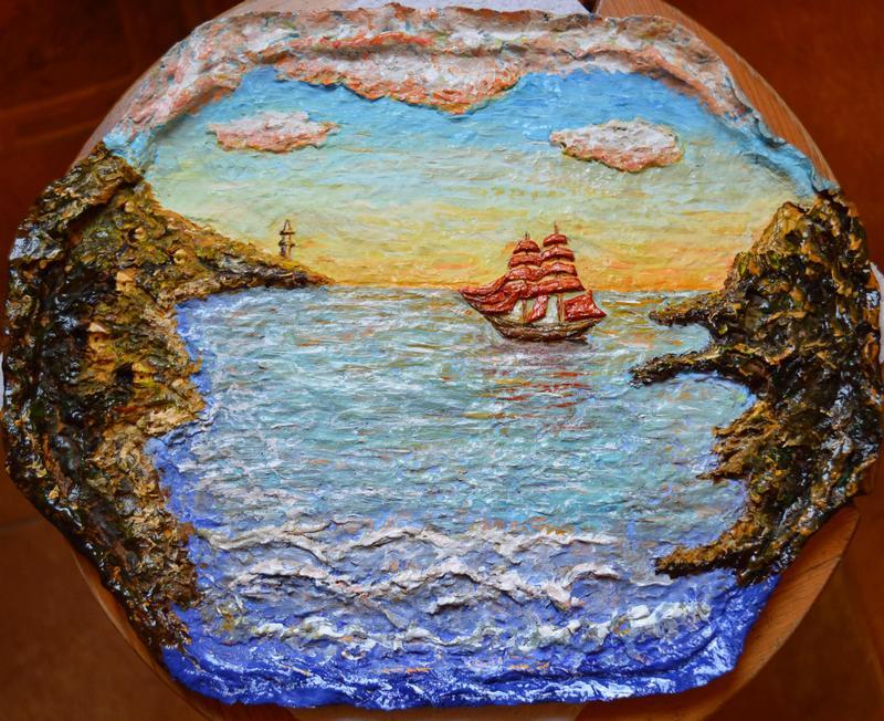Картины своими руками море