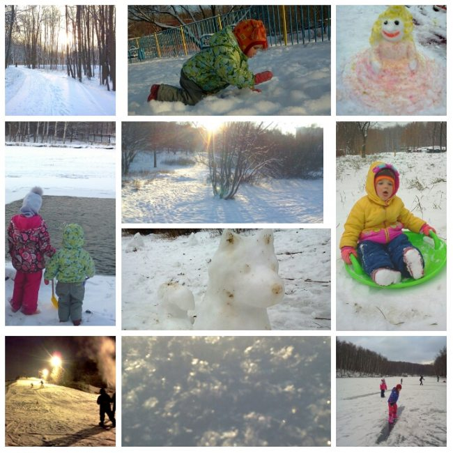 """Стишок про зиму для детей """"Эх, была б зима подольше!"""""""