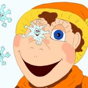 Детское стихотворение про снежинки «Разговор со снежинкой»