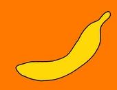 Банан детская картинка