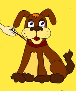Собака детская картинка
