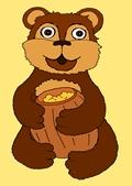 Медведь детская картинка