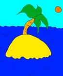 Остров детская картинка