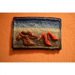 Картины для прихожей серии «Двое». Креативный подарок мужчине