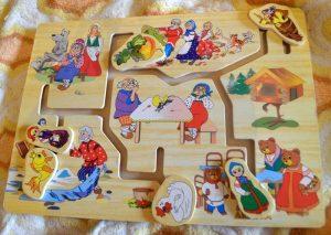 Настольные развивающие игры для детей 2 – 3 лет обзор и наши отзывы. Логические игры для малышей. Лабиринт деревянный