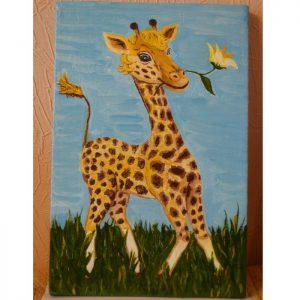 Картины для детской комнаты. Картина Жираф