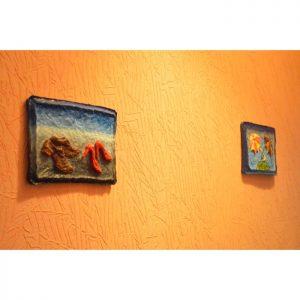 Картины для прихожей серии «Двое». Креативный подарок мужчине. Современная абстракция