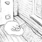 "Иллюстрация к стихотворению про сон ""Зимний сон"""