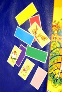 """Настольная игра ходилка """"Маша и медведь"""" разноцветные карточки"""