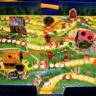 Настольная игра ходилка сказочный лес внутри