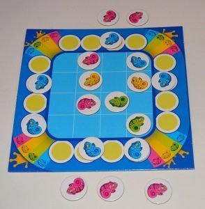 Детская логическая игра хамелеон