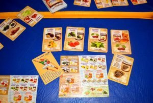 Игра настольная логическая Варенье карты