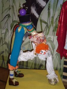 Арлекин экспонат музея Букваря