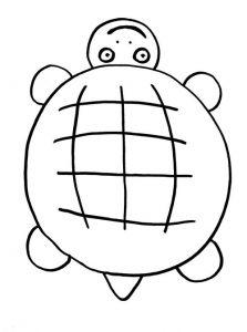Как нарисовать черепашку просто