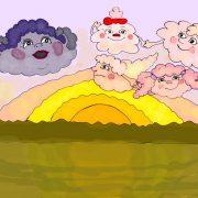Мама туча и дети облака