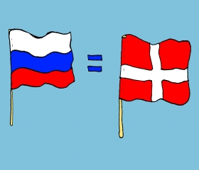 Флаг карточка