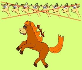 карточка horse