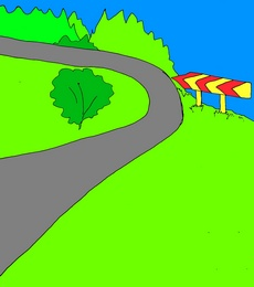 road дорога учим английские слова