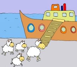 sheep ship карточки с английскими словами