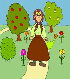 garden ассоциативный английский