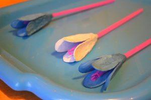 цветки на стебельках