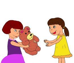 teddy bear - плюшевый мишка