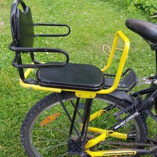 Сиденье для ребёнка на багажник велосипеда