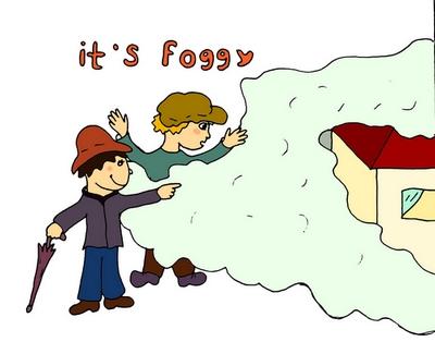it's foggy туманно весёлый английский
