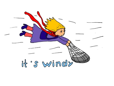 "it""s windy ветренно запоминание английских слов"