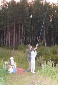 любит рыбалку