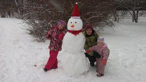 skazka pro snegovika, сказка про снеговика