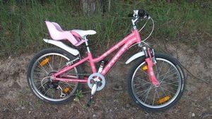 Как научить ребенка ездить на велосипеде. Велосипед Trek