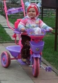 Как научить ребенка ездить на велосипеде. Штучка с ручкой