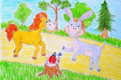 Сказка про пони и ослика. Здравствуйте!
