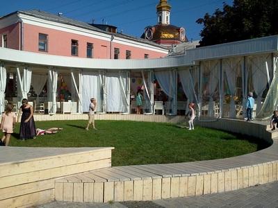 Где погулять с ребёнком в Москве. Парк Баумана или Сад культуры и отдыха имени Баумана. Праздник