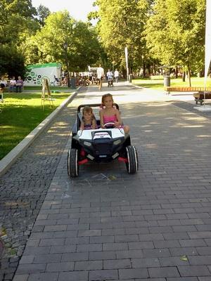Где погулять с ребёнком в Москве. Парк Баумана или Сад культуры и отдыха имени Баумана. Прокат